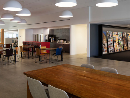 MBH Architects Built Collaboration and Employee Well-Being Right Into Its Office Space