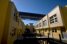 Harbor Lofts courtyard San Francisco