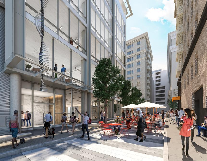 300 Grant Avenue Rendering