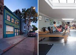 EHS Pilates studio arch design