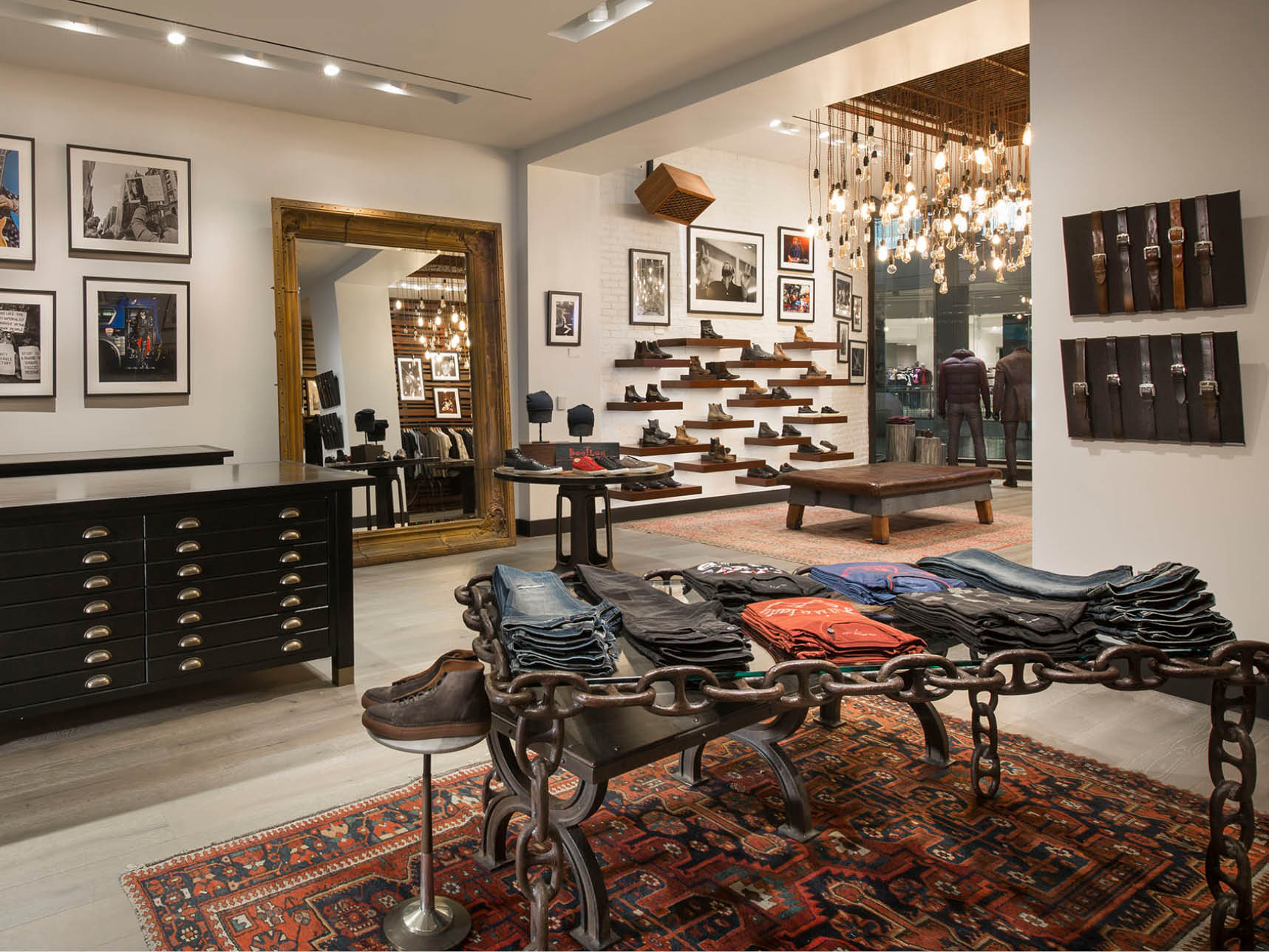 John Varvatos retail architect