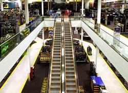 Best Buy retail arch
