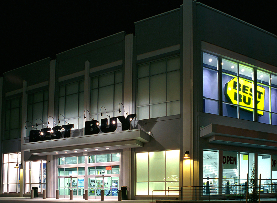 Best Buy retail arch