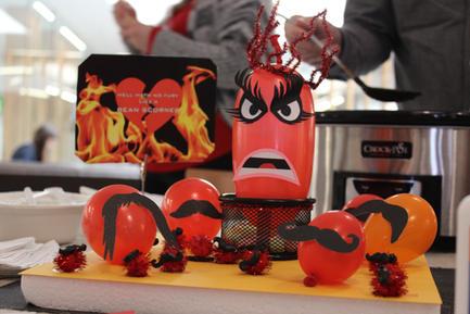 Valentine's Day Heartburn Chili Cook-off