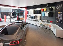Tesla Showroom Century City