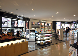 Duty Free Store retail arch