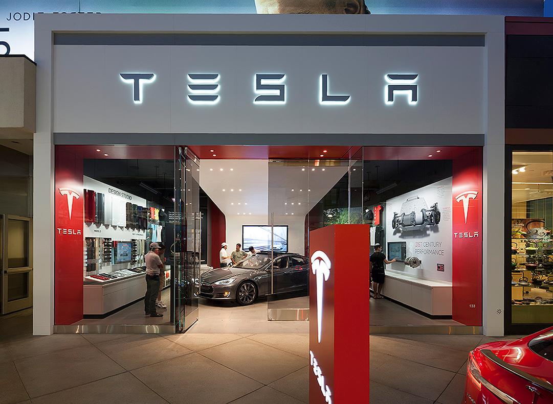 Tesla (Showrooms)