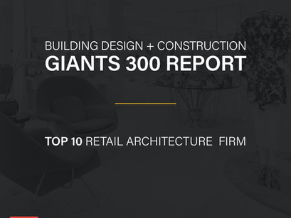 MBH Included in Top 10 Retail Architecture Firms