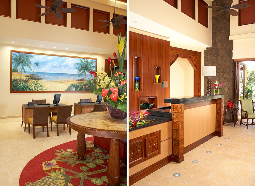 Hilton hospitality arch design