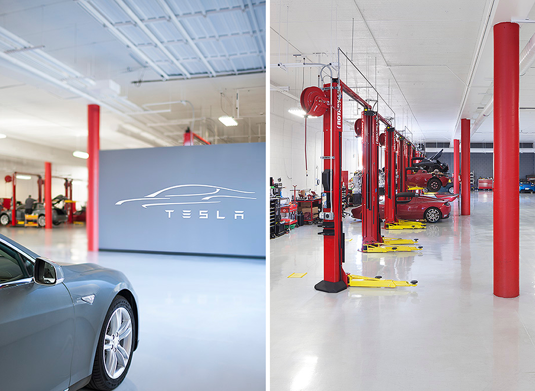 Tesla Service Center Palo Alto CA