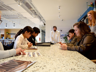 Mold-Breaking Students Encouraged During Architecture Lesson