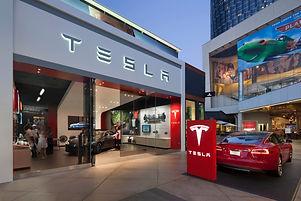 Tesla Showroom Century City California