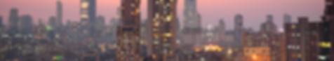 Panoramic view of south central Mumbai -