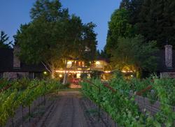 Harvest Inn hospitality arch