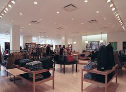 J Crew retail arch