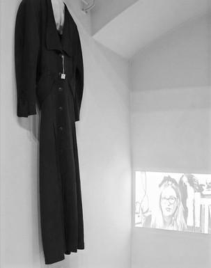 PROJECT/EXIBITION - Installation + video 'Black Garments'