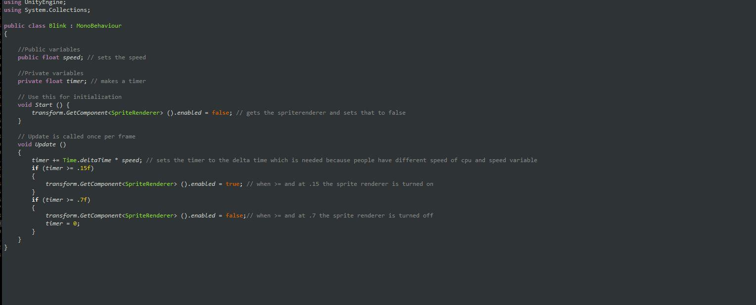Blink Script