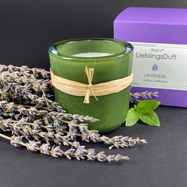 Lieblingsduft NaturDuftKerze Lavendel Minze