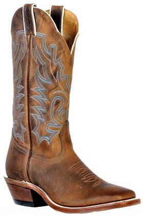 Ladies Boulet Wide Square Toe Cowboy Boot 9354