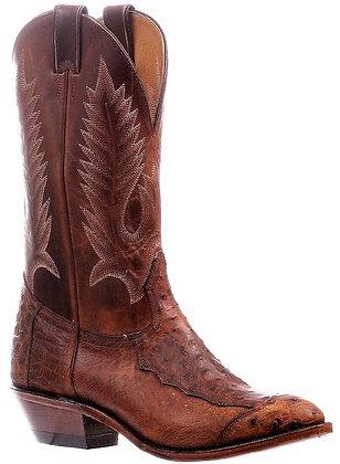 Men's Boulet Smooth Ostrich Medium Cowboy Toe Boot 6552