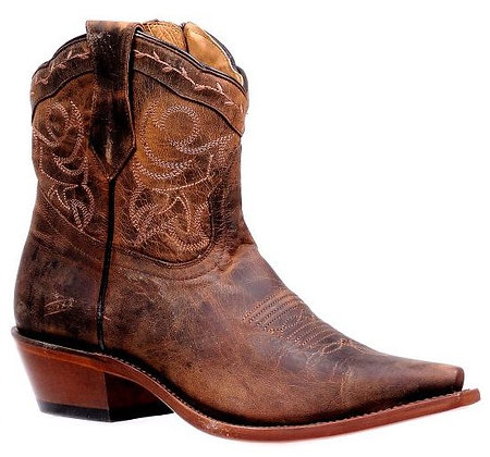 Ladies Boulet Snip Toe Rugged Country Boot 6791