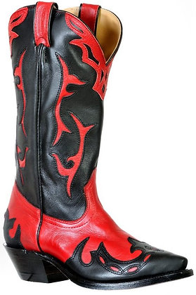 Ladies Boulet Snip Toe Cowboy Boot 9605