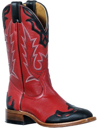 Ladies Boulet Medium Square Toe Cowboy Boot 9372