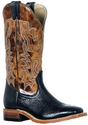 Ladies Boulet Wide Square Toe Cowboy Boot 9392