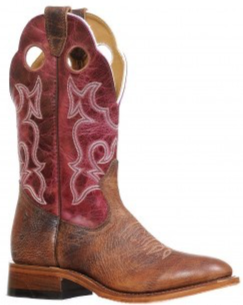 Ladies Boulet Full Round Toe Cowgirl Boot 8539