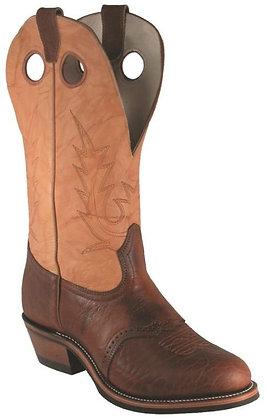 Mens Boulet Buckaroo Round Toe Cowboy Boots 4163