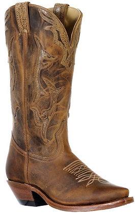 Ladies Boulet Snip Toe Cowboy Boot 9616