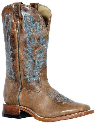 Ladies Boulet Wide Square Toe Cowboy Boot 9385