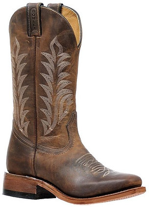 Ladies Boulet Vintage Sqaure Toe Cowgirl Boot 6211