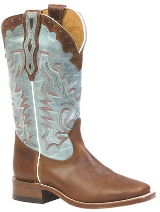 Ladies Boulet Wide Square Toe Cowgirl Boots 3097