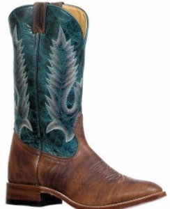 Men's Boulet Full Round Toe Cowboy Boot 8278