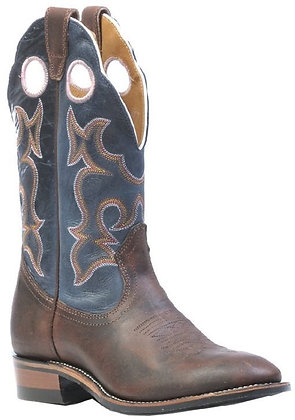 Ladies Boulet Super Roper Full Round Toe Cowgirl Boots 0299