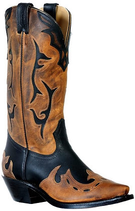 Ladies Boulet Snip Toe Cowboy Boot 9612