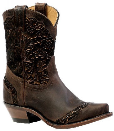 Ladies Boulet Snip Toe Cowgirl Boot 4631