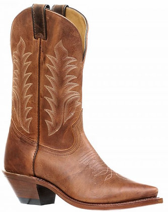 Ladies Boulet Snip Toe Cowgirl Boot 7611