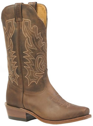 Ladies Boulet Cutter Toe Cowgirl Boots 3166