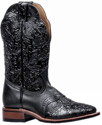 Ladies Boulet Wide Square Toe Cowgirl Boot 5167