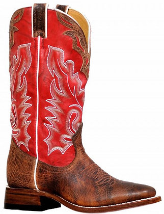 Ladies Boulet Wide Square Toe Cowgirl Boot 8239