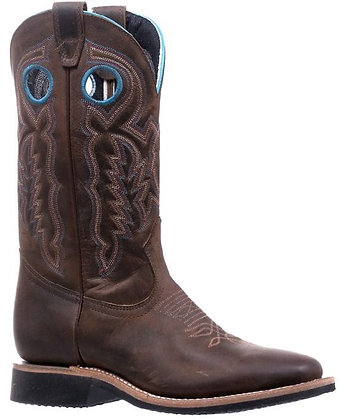 Ladies Boulet Wide Square Toe Cowgirl Boot 5202
