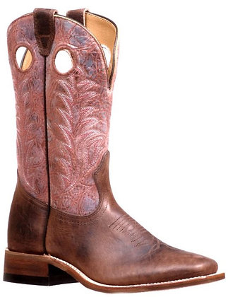 Ladies Boulet Challenger Wide Square Toe Boot 7724