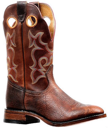 Men's Boulet Full Round Toe Cowboy Boot 6322