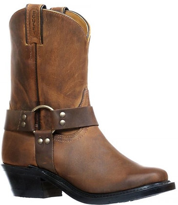 Ladies Boulet Vagabond Toe Motorcycle Boot 8221