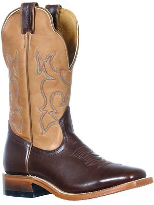 Ladies Boulet Wide Square Toe Cowboy Boot 9363