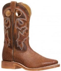 Men's Boulet Wide Square Toe Cowboy Boot 8308