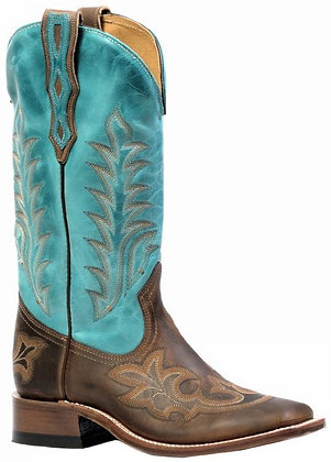Ladies Boulet Wide Square Toe Cowgirl Boot 4307