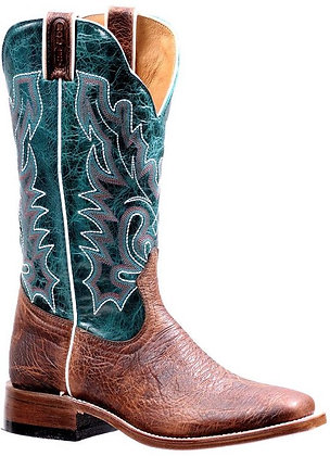 Ladies Boulet Wide Square Toe Cowgirl Boot 7212